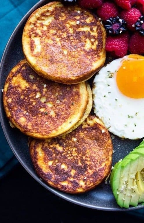 Sweet potatoes pancakes the  perfect breakfast