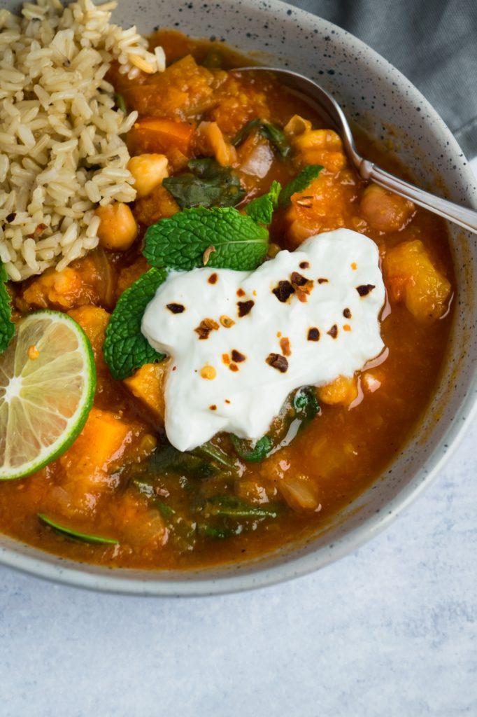 chickpea stew instant pot