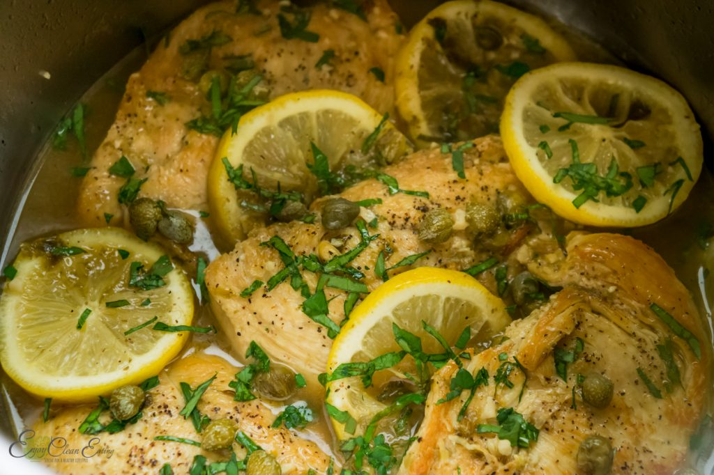 instant pot chicken piccata