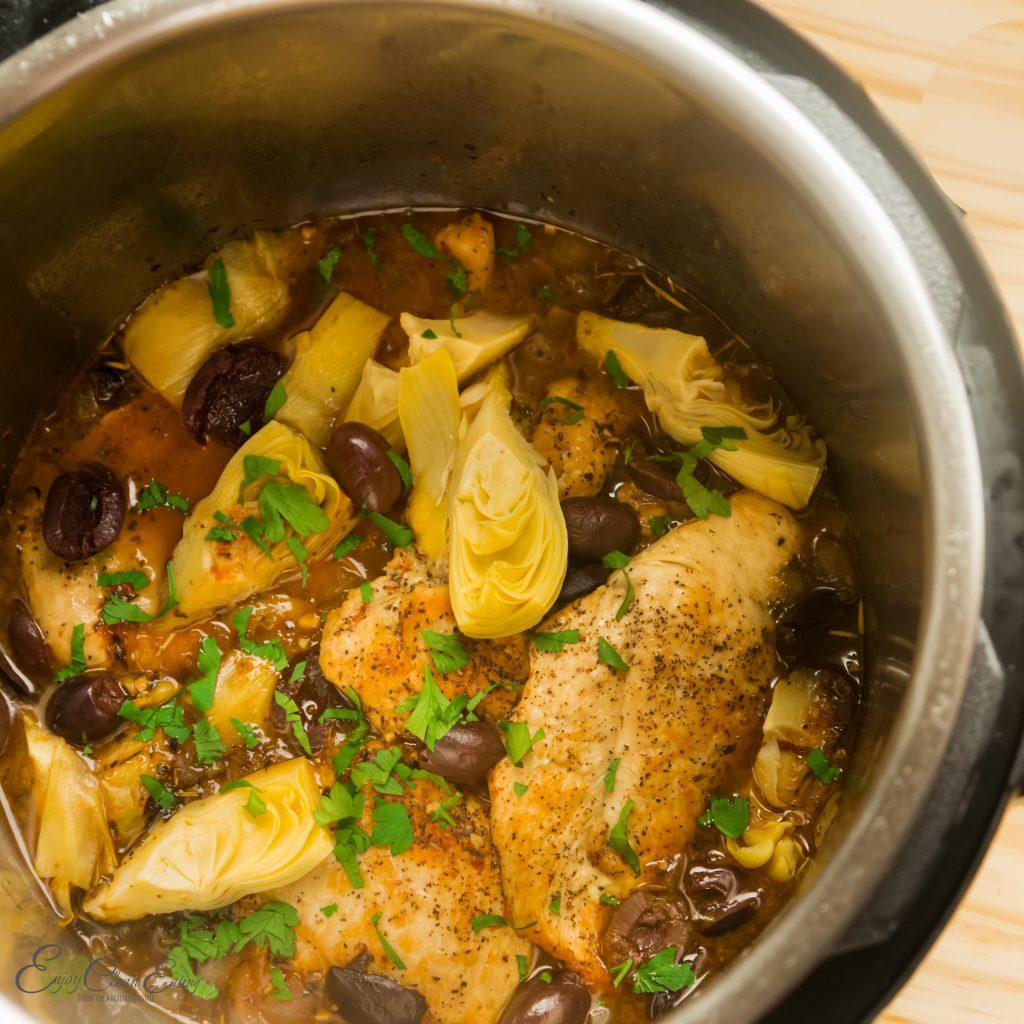 Instant pot mediterranean chicken