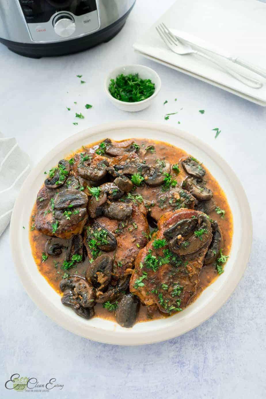 boneless pork chops instant pot