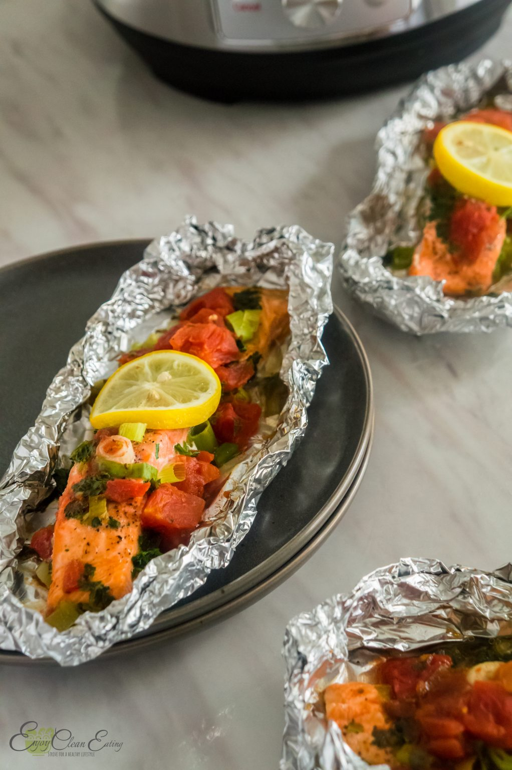 instant pot salmon foil packets