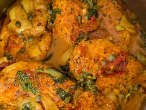 chicken tuscan instant pot