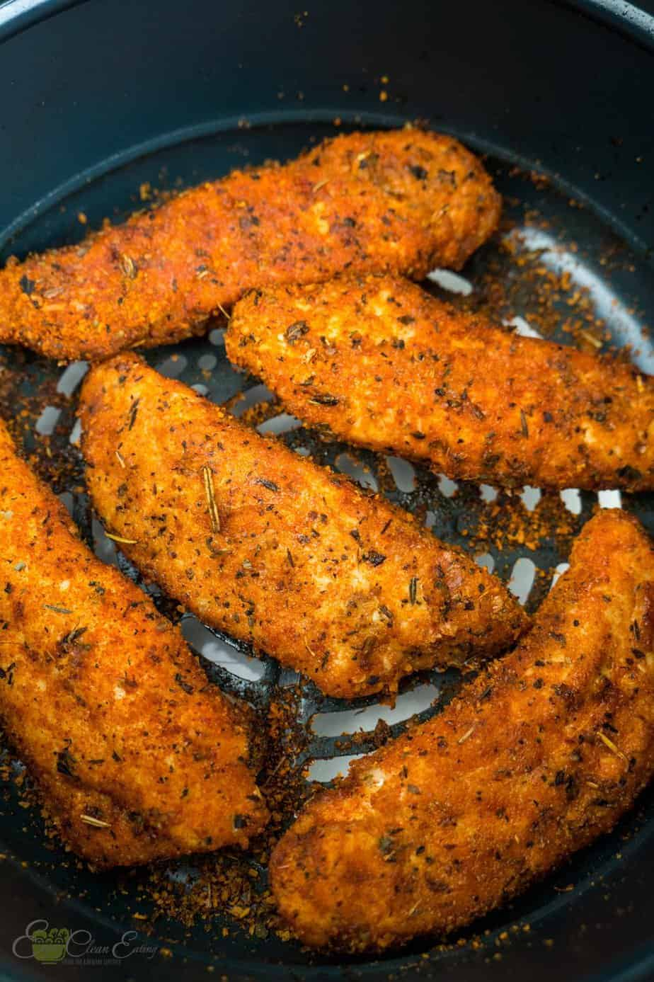 Air Fryer Chicken Tenders Instant Pot Air Fryer Lid Enjoy