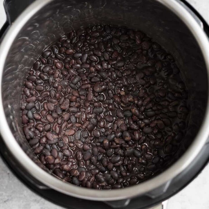Instant Pot Black Beans (no soak)