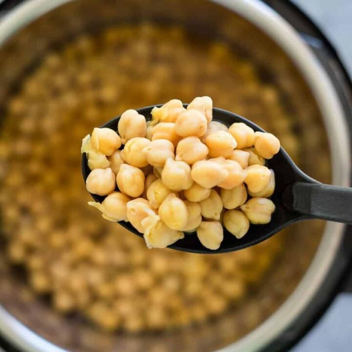 Simple Instant Pot Chickpea No-Soak