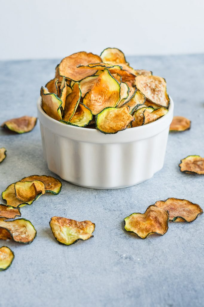 zucchini chips in the air fryer